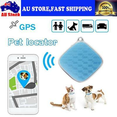 AU 4G Pet GPS Collar Tracker Cat Security Anti-Lost Real Time Locator Waterproof