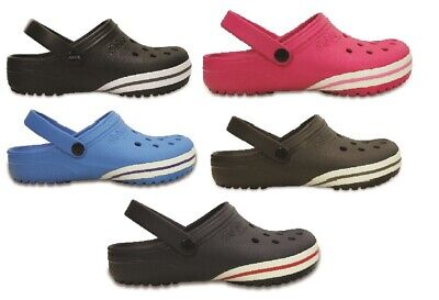 CROCS - Jibbitz by Crocs - Black / Braun / Navy / Ocean Clogs 36/37-48/49 Kilby