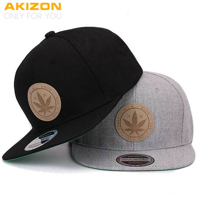 Young Men Snapback Cap Flat Brim Cute Adjustable Baseball Cap for Teen Girls NEW