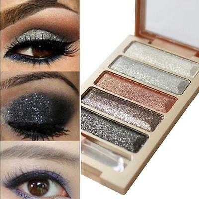 5 Colors Shimmer Eyeshadow Palette Makeup Cosmetic Glitter Eye Shadow Matte L