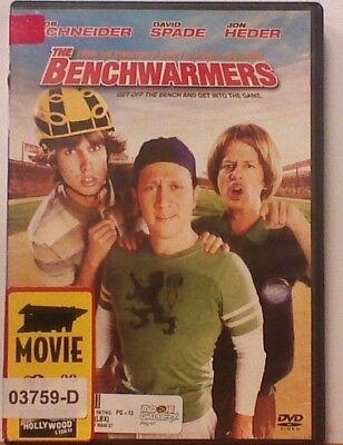 DVD Movie THE BENCHWARMERS Rob Schneider in Original Jacket