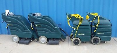 Lot Of 4 Nobles Frontier 608549 Carpet Extractor & Wet/dry Vac 608688 Typhoon Ev