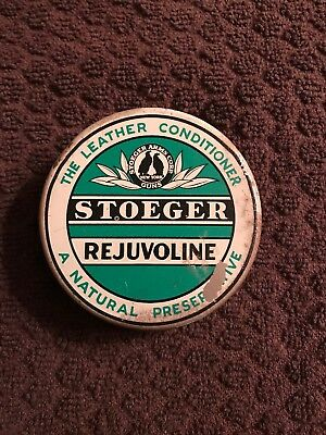 "Vintage Full Stoeger Rejuvoline!! ""The Leather Conditioner!!"" Good Condition!!!"