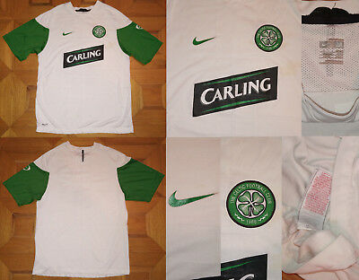 Maglia shirt jersey CELTIC GLASGOW NIKE CARLING training allenamento vintage