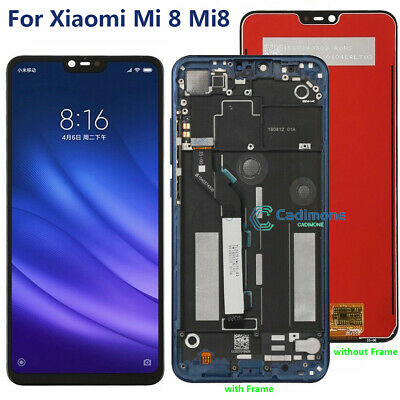 OEM LCD Display For Xiaomi Mi 8 Touch Screen Digitizer Assembly Replacement RDH0