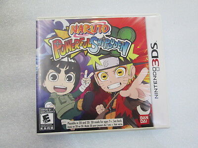 Naruto Powerful Shippuden (Nintendo 3DS, 2013) Complete