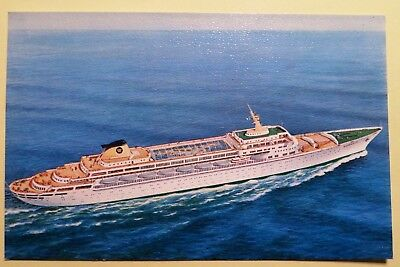 s/s Oceanic. Home Lines. Ocean Liner. Cruise Ship. Transport. Vessel. Boats.