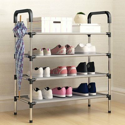 New arrival Nonwovens Multiple layers Shoe Rack with handrail Easy Assembled