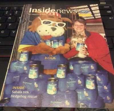 RSPCA magazine Inside News - Julian Clary Article; 2005