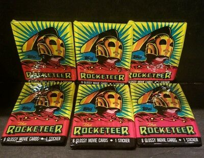 Lot of 3 Packs Topps & Walt Disney The Rocketeer Glossy Movie Cards Collectibles