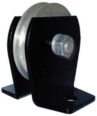 ZORO SELECT 5RRR1 Wire Rope Pulley Block, 1000 lb Load Cap.
