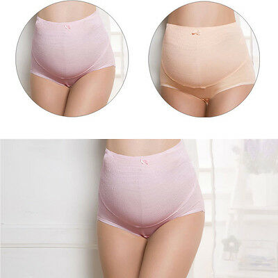 Gn- Eg_ Ba_ Maternity Adjustable Pregnant Women Panties Belly Care Support Under