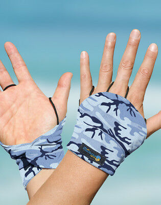 Palmless Gloves UPF50+ MARINE CAMO Sun Protection