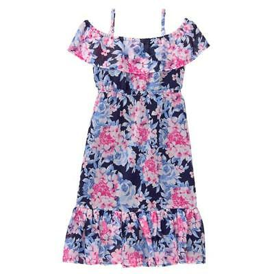NWT Gymboree Dressed Up Floral Ruffle Dress Wedding Easter Girls