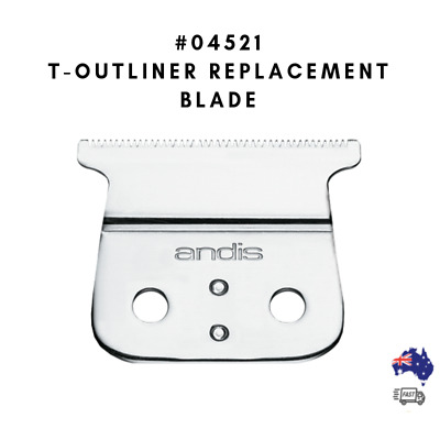 Andis Professional #04521 T-Outliner Replacement Blade(AUS-SELLER/FAST SHIPPING)