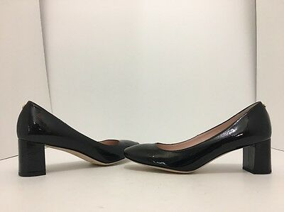 23bc7b5ca0 Kate Spade Dolores Black Crinkle Patent Leather Women's Heels Pumps Size  8.5 M