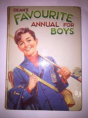 1960s vintage deans dean's favourite annual for boys 1961 book jimmy's scot-free
