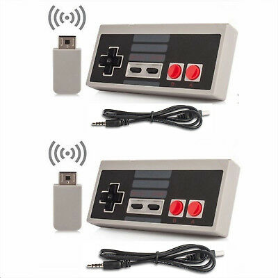 Wireless Game Controller GamePad Replace For Nintendo Mini Classic NES Console
