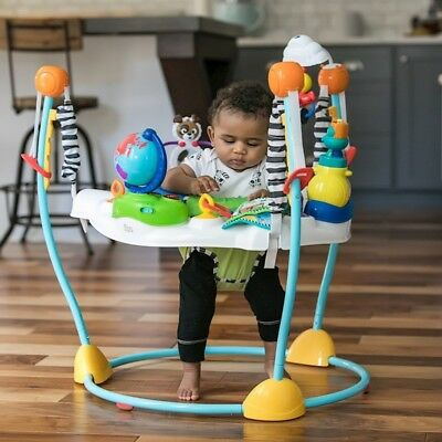 Baby Walker Jumper w Sounds Toys Tray for Baby Learn To Walk Kids Walk