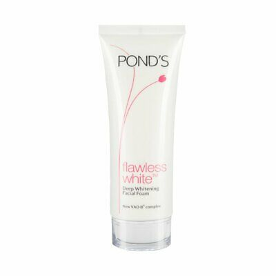 Pond's Flawless White Deep Whitening Facial Foam Brightening Face Wash 100g FS