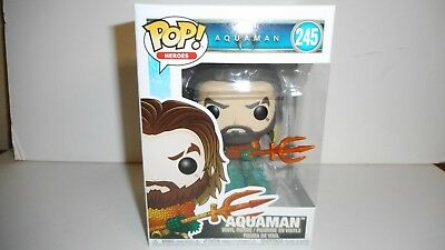 Funko Pop! Heroes Aquaman Pop! Vinyl Figure #245
