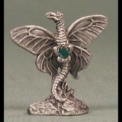 Winged Fairy Dragon Miniature Pewter
