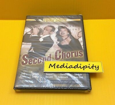 SECOND CHORUS DVD (Fred Astaire, Critics Choice, 2004) NEW SEALED AUTHENTIC