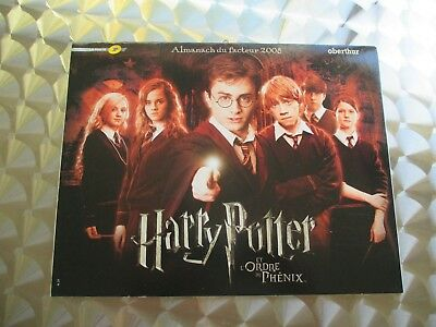 Calendrier collector  HARRY POTTER 2008