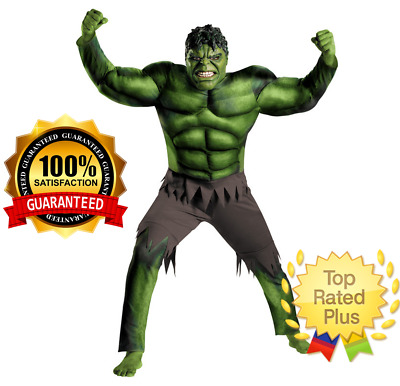 Hulk Costume The Avengers for Boys kids Carnival Halloween Party Carnival