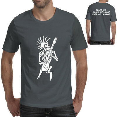 The Skull Chef T-Shirt Mens Skeleton Undead Cook Rock Goth Punk SC1