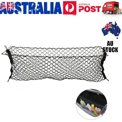 Universal Car Rear Cargo Tidy Net Boot Trunk Storage Luggage Organizer 110x40cm