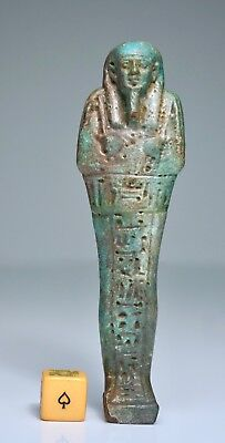 Ancient Egyptian Shabti for Priest Heneb Heneb - 30th Dynasty