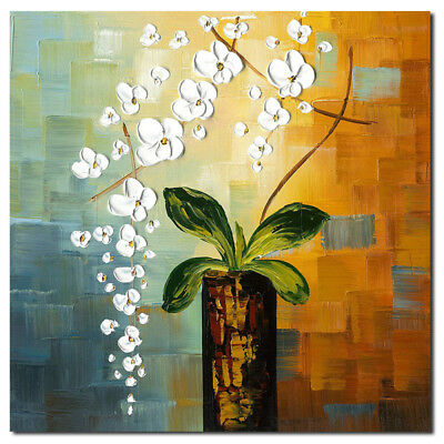 Flower Unframed Abstract Art Canvas Oil Painting Picture Print Home Wall Decor