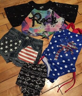 Justice Baby Girl Size 5 Mixed LOT EXCELLENT CONDITION!