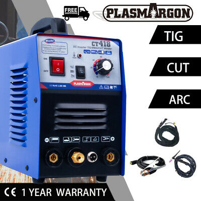 3 In 1 Functional Plasma Cutter/TIG/MMA Welding Machine Stainless Steel DIY