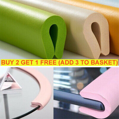 2M Foam Corner Baby Guard Bumper Cushion Strip/Corner Safety Edge Desk Protect