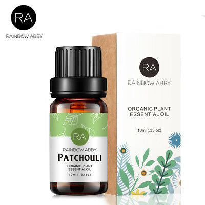 10ml Essential Oil Patchouli Oils Pure Natural Aromatherapy Therapeutic Diffuser