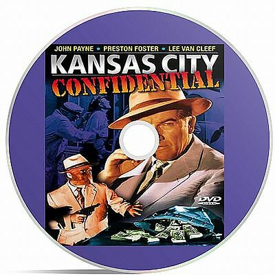 Kansas City Confidential Black And White Public Domain film Converted To DVD