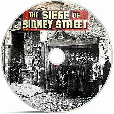 The Siege Of Sidney St Black And White Public Domain film On DVD
