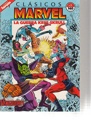 Clasicos Marvel. Vol.1 Numero 1.Forum.