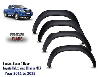 Toyota Hilux Hilux 2011 to 2015 Fender flares wheel arches Toyota Hilux - M241