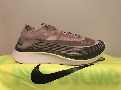 1a38e1a56d94 NIKE NIKELAB ZOOM Fly SEPIA STONE GREY AA3172-201 sz 9 RUNNING ...