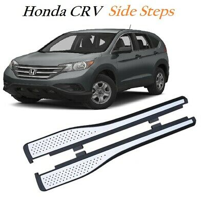 Honda CRV 2012 + Aluminium Side Running Boards Bar Steps OEM Protection -M219