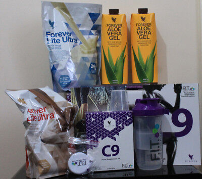 Forever Living C9 FIT Build Cleansing Programme Kit Vanilla Chocolate