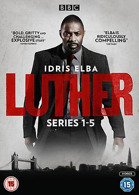 Luther: Series 1-5 (Box Set) [DVD]