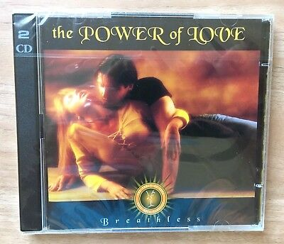 TIME LIFE CD The Power of Love Breathless Soft Rock Classics TL 629/2 NEW SEALED