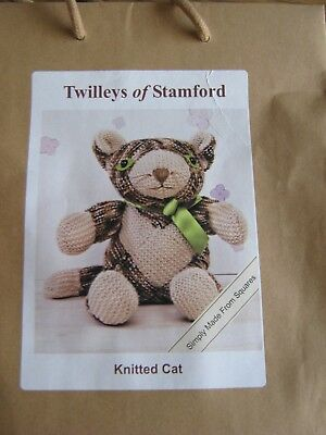 Twilleys Of Stamford - Colin The Cat Knitting Kit 2898 / 0502 Gift Present