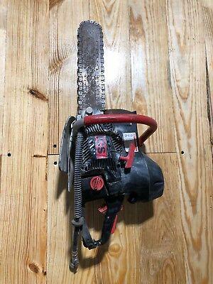 "ICS 680 14"" Gasoline Diamond Concrete Chain Saw W/H20 Hookup"