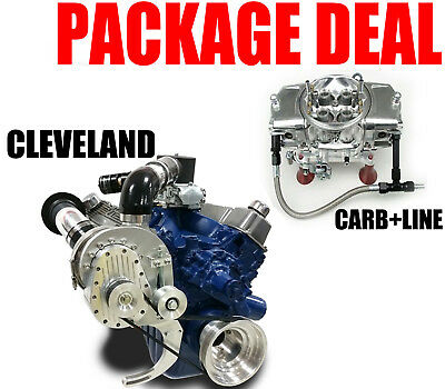 Torqstorm Supercharger System Small Block Ford Cleveland 351C Arp-K-Fd351C Carb