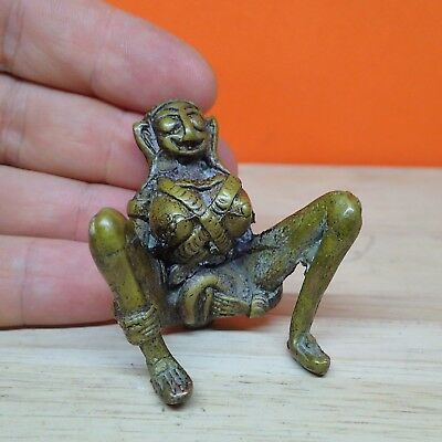 Ngang Statue E-Per Bronze Statue Magic Lady Love Charm Sex Khmer Collection